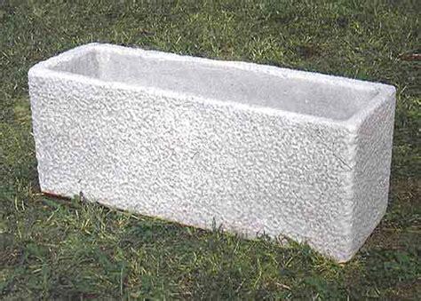 vasi in cemento da giardino 164 s vasca fabiana vendita vasi in cemento da