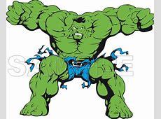 Hulk T Shirt Iron on Transfer Decal #2 Jack's Big Music Show