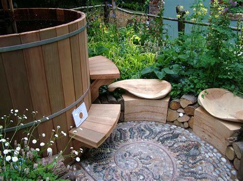 bathtub garden wooden hot tub water outlet wooden hottub outlet