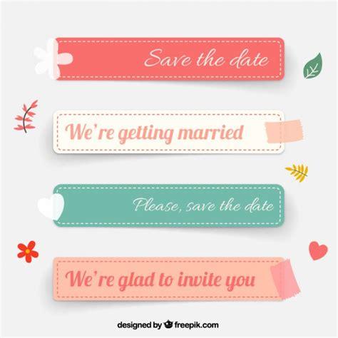 Free Download Vector Label wedding labels vector free