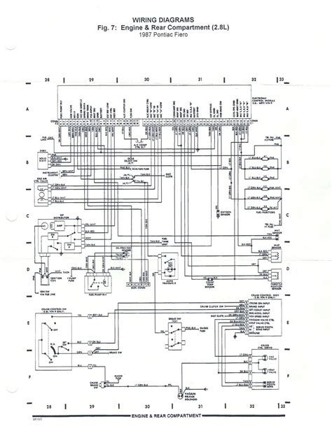 fiero wiring diagram wiring diagram for pontiac fiero get free image about