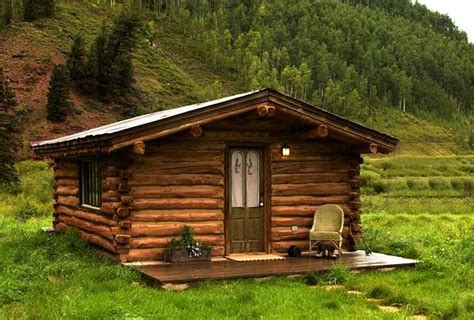 luxury resort uses cabins for guests to stay