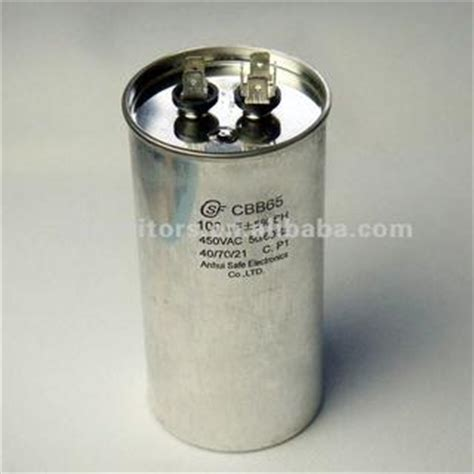 air capacitor working voltage 100 micro farad 370vac 6 air conditioner capacitor with ul approved china suppliers 704796