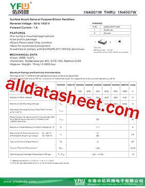 datasheet of diode 4007 diode 4007 datasheet 28 images 1n4007 tb 1191693 pdf datasheet ic on line dl4007 13 f