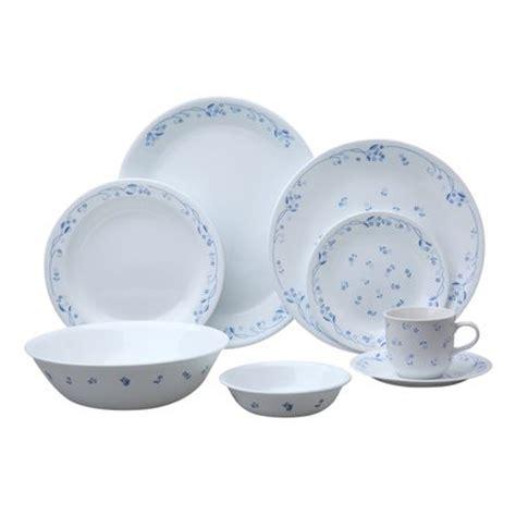 World Kitchen Corelle corelle 174 livingware provincial blue 76 pc dinnerware set world kitchen