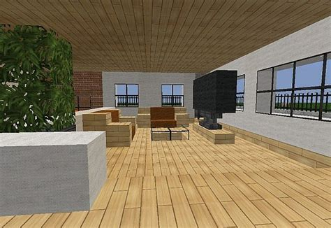 minecraft modern living room minecraft modern villa minecraft project