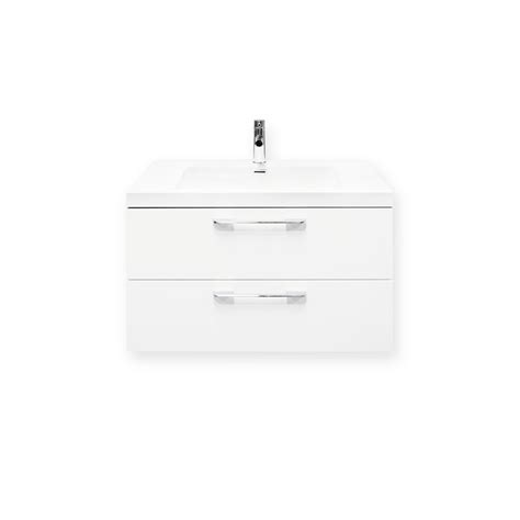 Forme Vanities Forme 800mm White Cabin Wall Hung Vanity Bunnings Warehouse