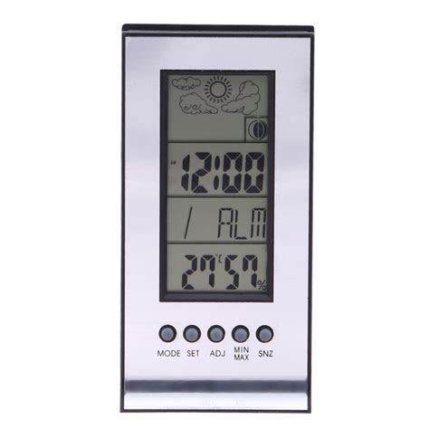 best new indoor outdoor thermometer weather station alarm