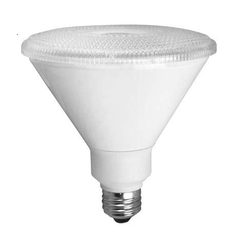 Par38 Led Flood Light Bulbs Tcp 90w Equivalent Bright White 3000k Par38 Smart Led Flood Light Bulb Cp3817lc30k The Home