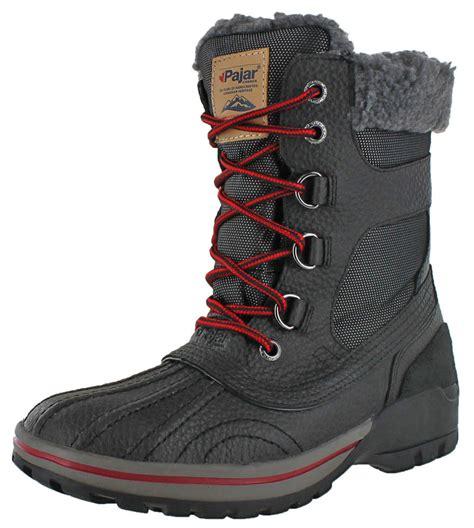 winter boots for canada pajar canada burman s winter snow boots duck