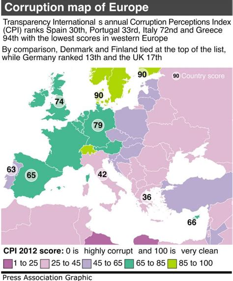 most corrupt countries in the world map most corrupt european union countries are also the most
