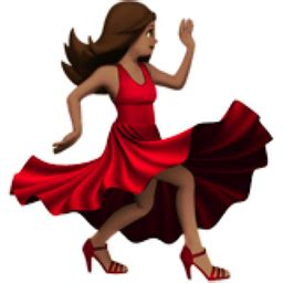 woman dancing medium skin tone emoji u 1f483 u 1f3fd