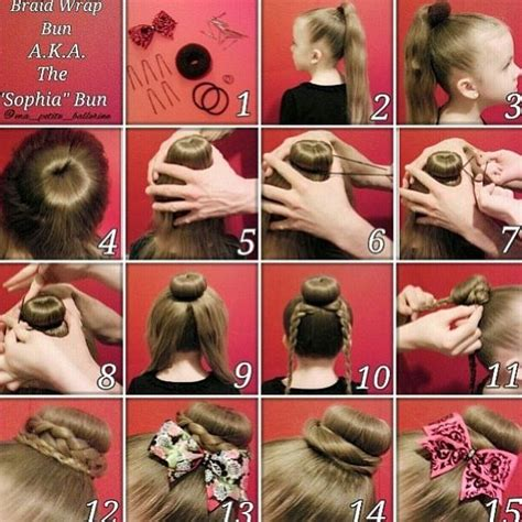 how to back your braids in doughnut bun by the sife sophia lucia bun dance pinterest
