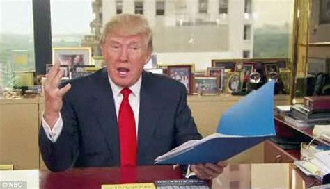 trump desk vs obama desk donald trump mocks and fires fake obama in apprentice