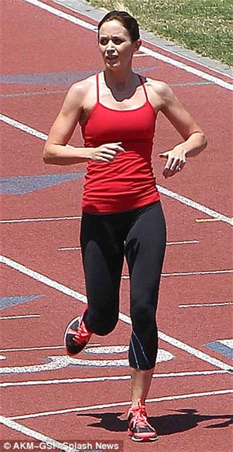 emily blunt diet emily blunt looks ready for the olympics as she works up a