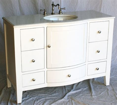 Bathroom Vanities 4 Less by 48 Quot W X 21 1 2 Quot D X 35 Quot H White S451248w Free Shipping