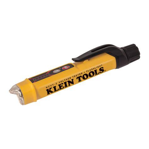 Ac Voltage Detector non contact voltage tester flashlight ncvt 3 klein