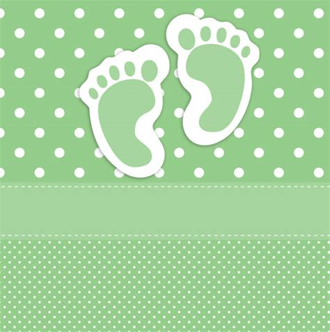 newborn card template free baby footprints card template free stock photo