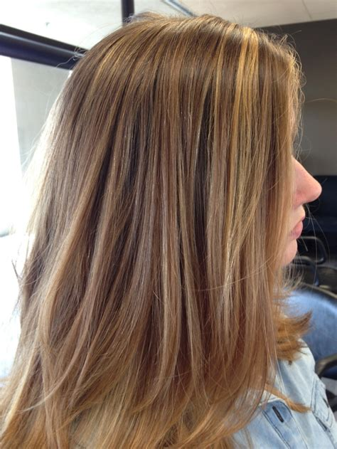 long layered highlighted hairstyles long layers and soft highlights long hair pinterest