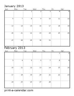 calendar template 2 months per page calendar printable 2016 two months per page calendar