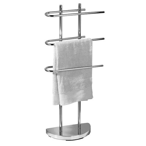 Modern Chrome Quality Bathroom Shelf Towel Stand Rack Chrome Bathroom Shelves For Towels