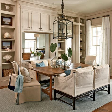 Coastal Living Dining Room by Dining Room Inspiration Redesignedinteriors