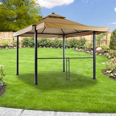 backyard gazebos home depot home depot canada gazebo replacement canopy cover garden