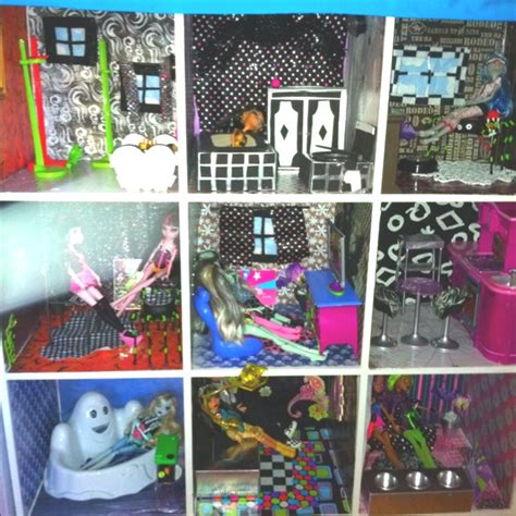 make your own monster high doll house monster high doll house ideas www pixshark com images