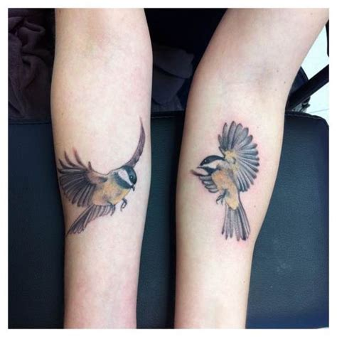 chickadee tattoo chickadee zoeken ink