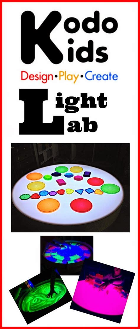 color changing light table kodo light lab color changing light table