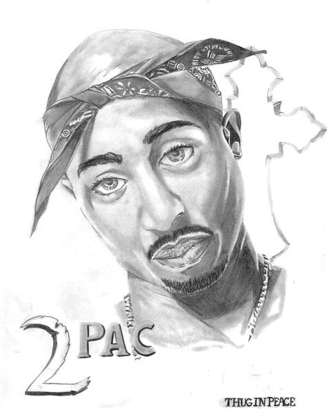2pac Sketches by 2pac R I P By Darkness1999th On Deviantart