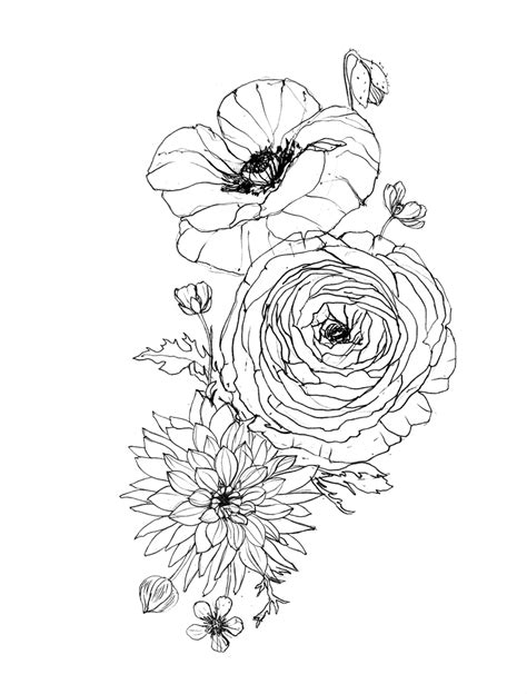 buttercup flower tattoo designs erin ellis floral for sina