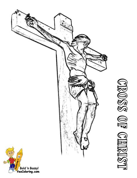 coloring pages jesus crucifixion regal easter coloring pages easter free crucifixion