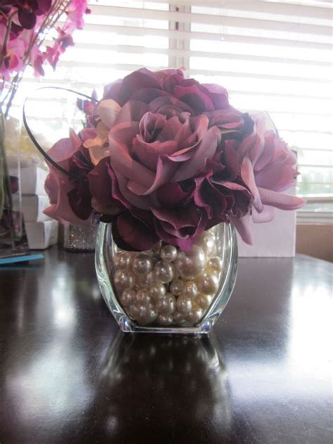 would like to make a small table centerpiece for christmas pearl centerpiece quot pop up quot inspiration centerpieces wedding centerpieces and
