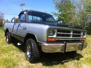 sell new 1987 dodge power ram 4x4 le power wagon in