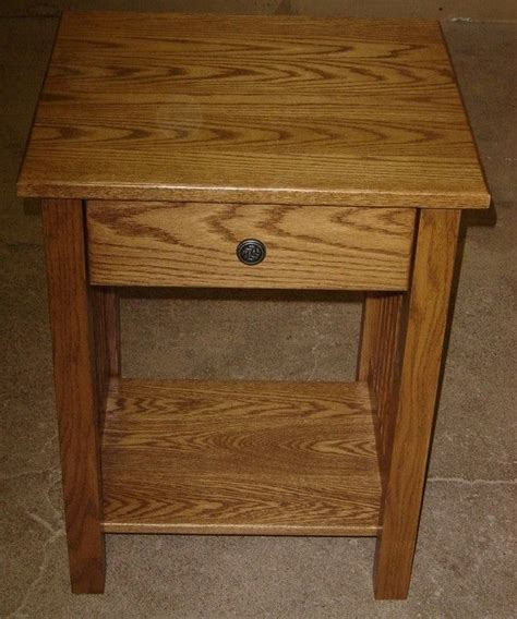 room and board night tables hand crafted new mission style solid oak wood bedside
