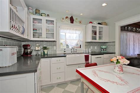 Modern Vintage Kitchen Modern Retro Kitchen