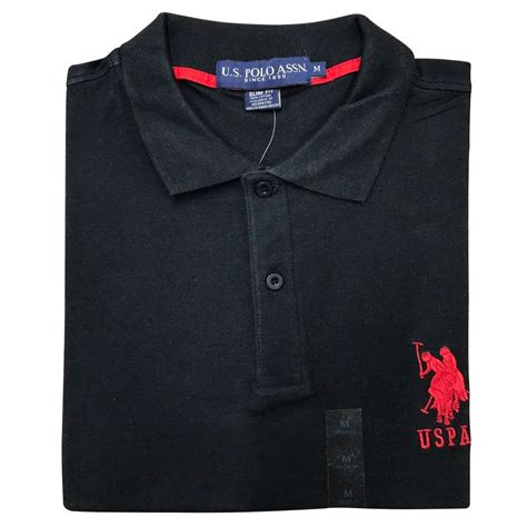 Polo Shirt Polos Original Cotton mens polo tshirt original top designer us polo assn t