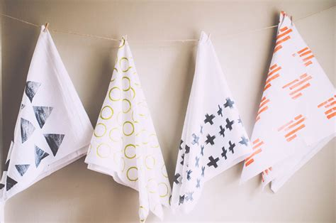 Handmade Tea Towels - tea towels