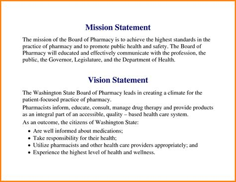 examples  personal mission statements case statement