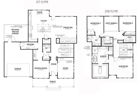 2 story bungalow floor plans bungalow house floor plans small bungalow house plans