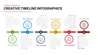 creative free powerpoint templates creative timeline infographics powerpoint and keynote