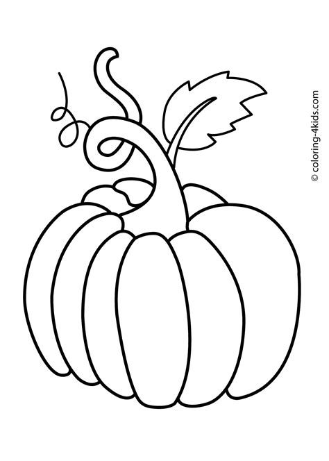 autumn vegetables coloring pages pumpkin vegetable coloring page for kids printable