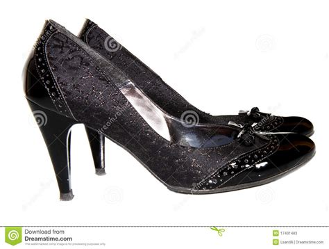 Shoe Unlimited Sr 5003 Black black shoes stock image image of studio 17431483