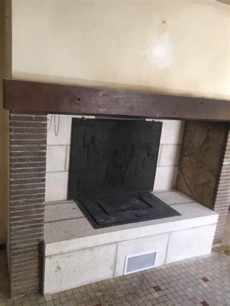 cheminee ouverte avec recuperateur chaleur chemin 233 e ouverte avec r 233 cup 233 rateur foyer berman feu