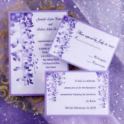 where to get wedding invitations unique purple garden wedding invitations ewi007 as low as 0 94