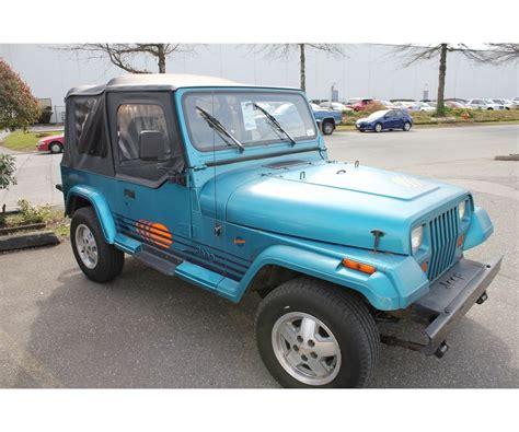 1991 jeep islander 1991 jeep wrangler yj islander vin 2j4fy39s1mj139759
