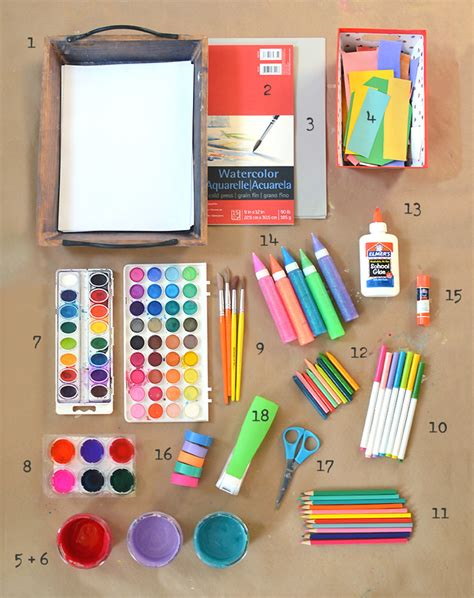 themes list for art art supplies artbar