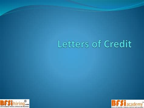 Trade Finance Products Letter Of Credit Trade Finance Letter Of Credit