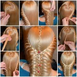 easiest type of diy hair braiding wonderful diy romantic heart braided hairstyle